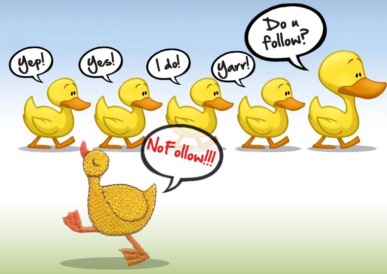 "Is ""Nofollow"" To External Links a Bad Idea?"